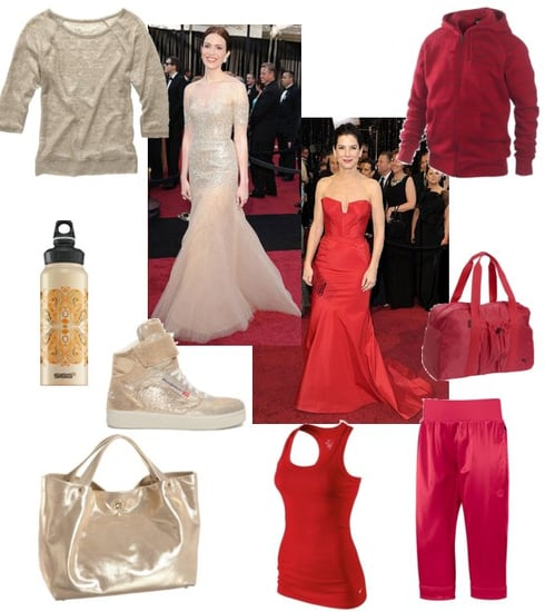 Oscars Red Carpet Trends: Red and Nude Sparkle Dresses