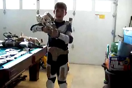 Halo Kid Makes a Video