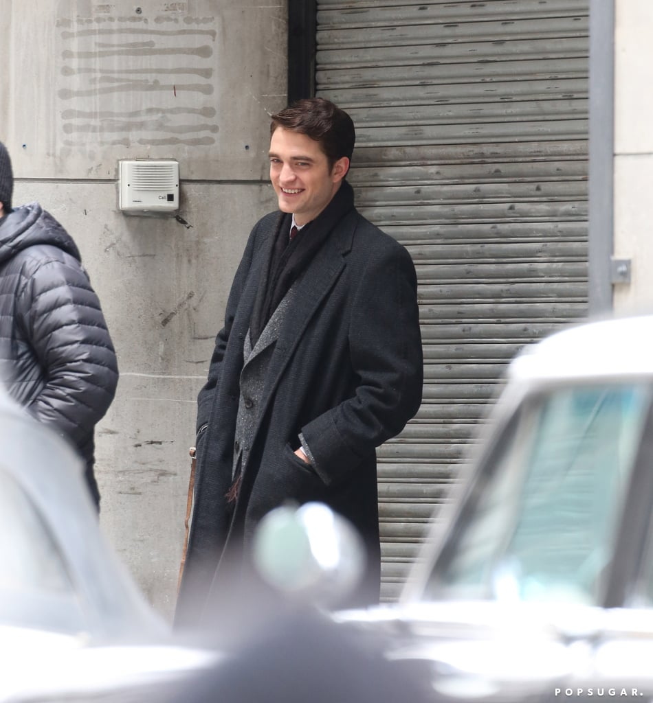 Robert Pattinson Really Knows How to Show His Feelings on Set