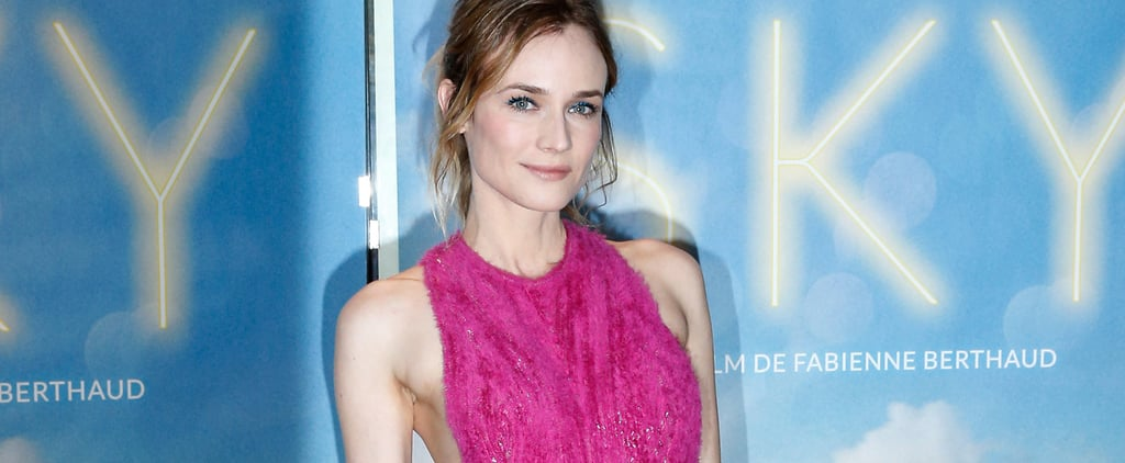 You'll Rethink Pink After Seeing Diane Kruger in This Hugo Boss Masterpiece