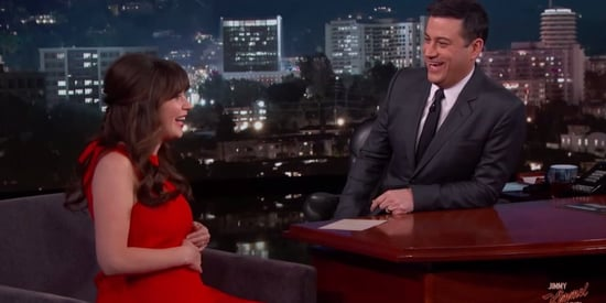 Pregnant Zooey Deschanel Misses Wine, Soft Cheese And Sushi