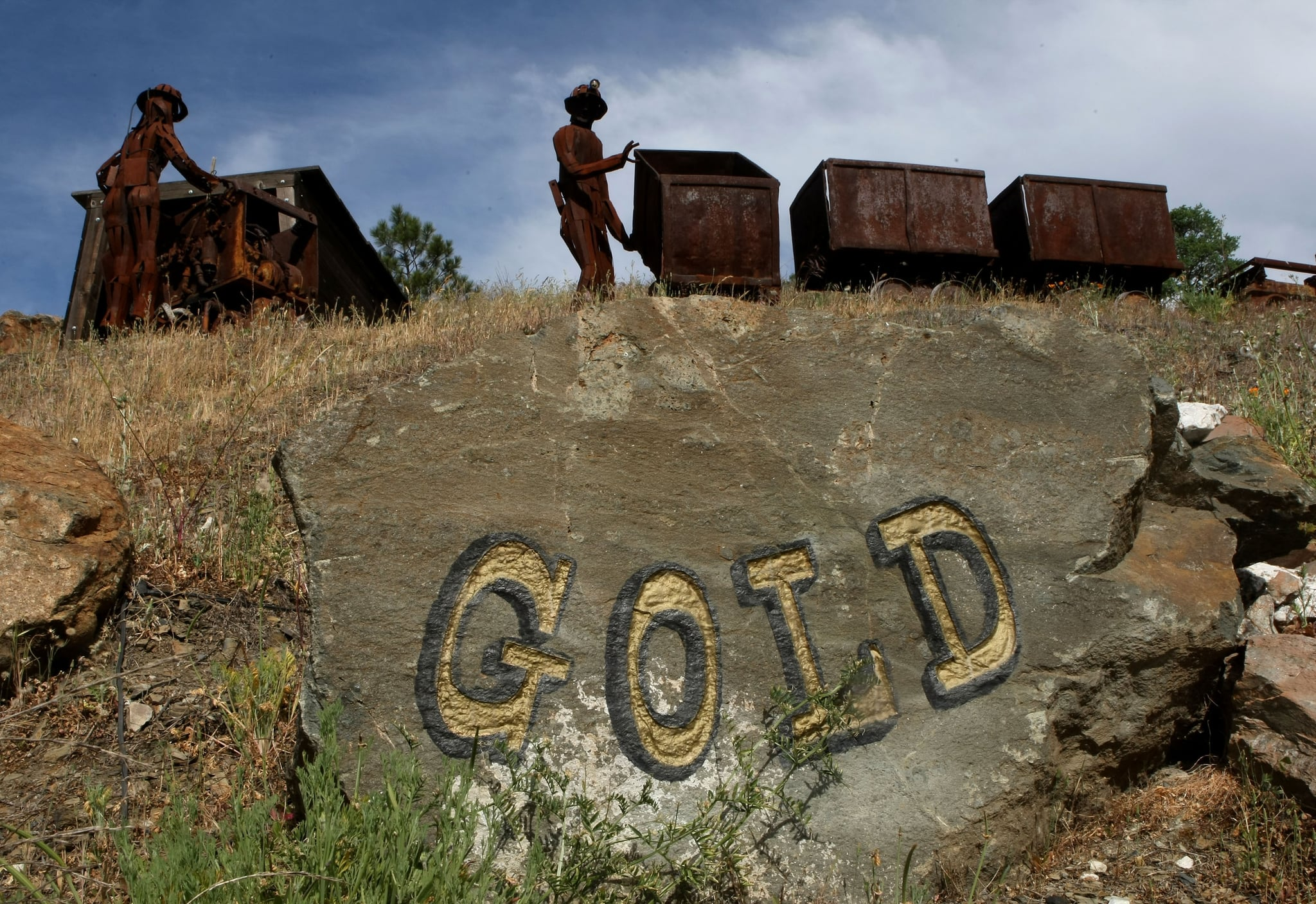 Gold country — not just for tourists anymore.
