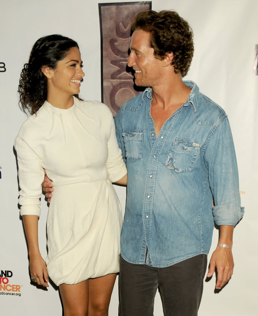 Matthew McConaughey and Camila Alves only had eyes for each other at an event in LA in August 2008.