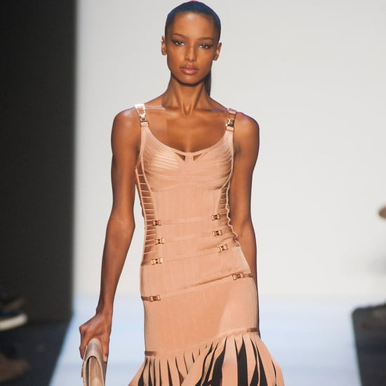 Herve Leger Fall 2014 Runway Show | New York Fashion Week