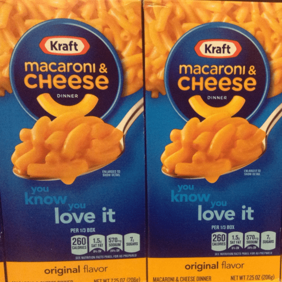 New Kraft Macaroni and Cheese Recipe