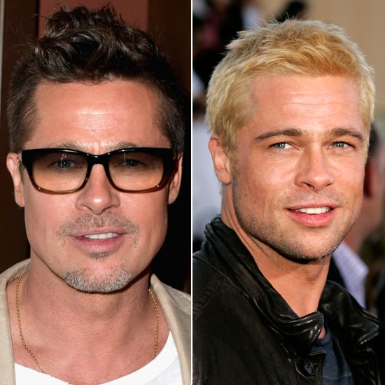 Does Brad look better as a dirty blond or bleached babe?