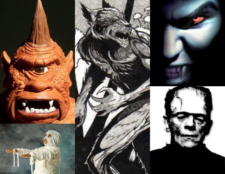 Which Monster Would Make You Run Your Fastest?