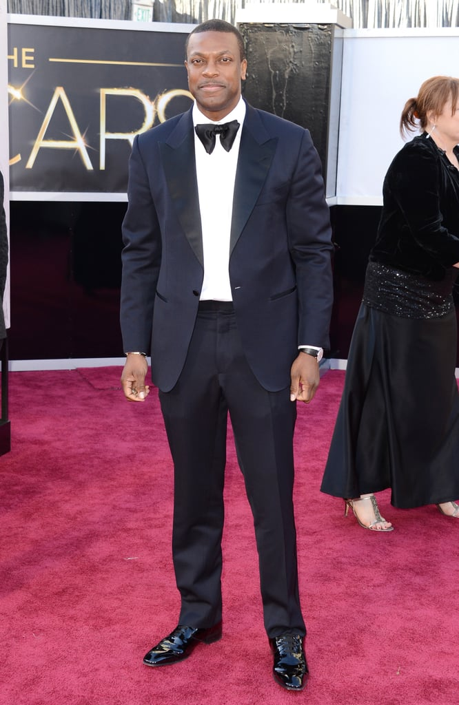 Chris Tucker stepped out for the Oscars in LA.