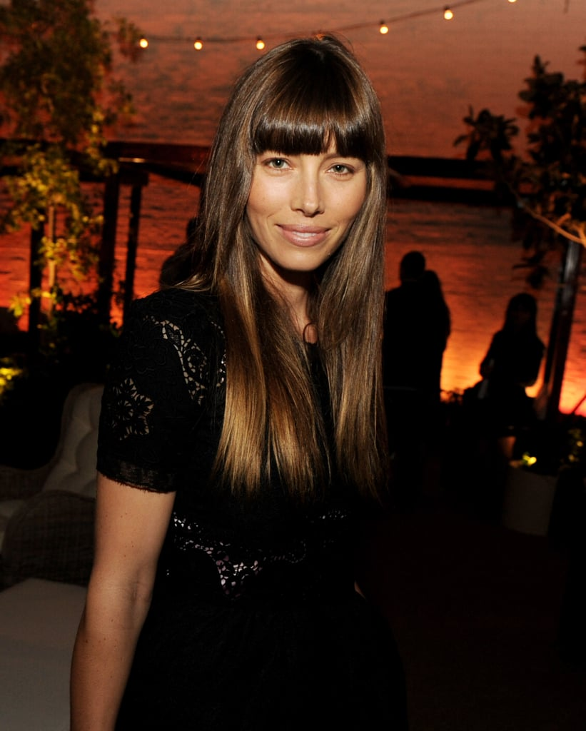 Jessica Biel arrived at the Trouble With the Curve premiere in LA to support Justin Timberlake.