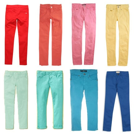 Colorful Jeans For Girls