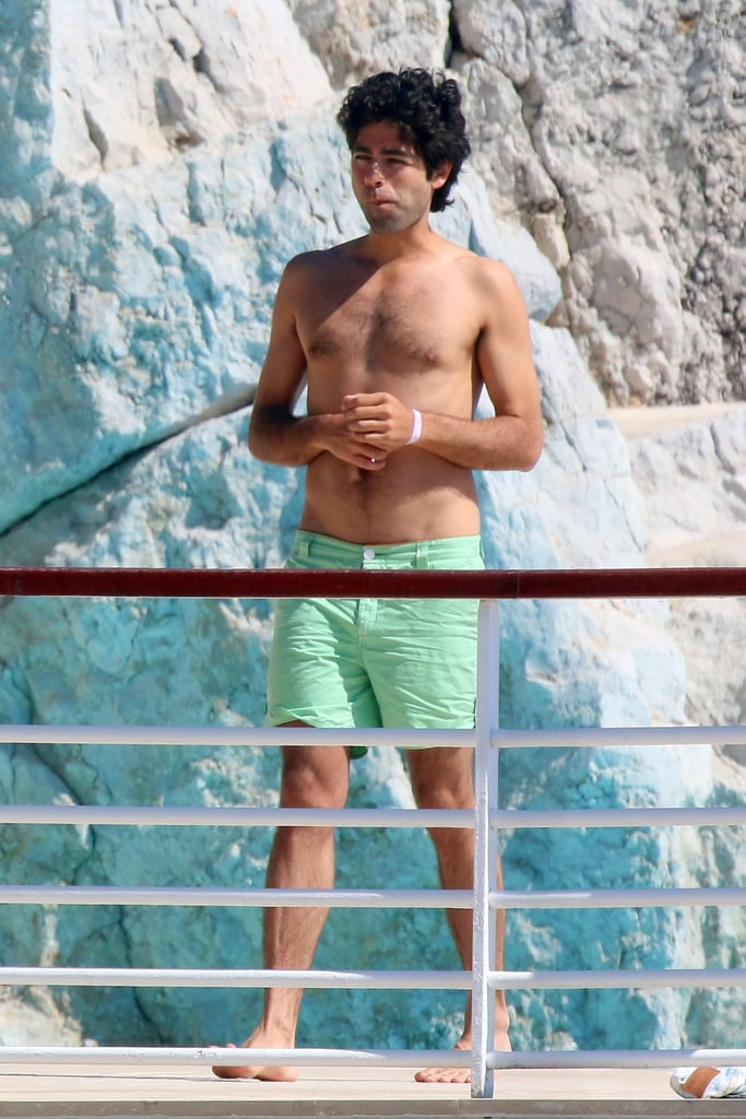 Adrian Grenier's Pool Day Looks Like an Episode of Entourage