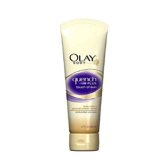 Hydrate your skin and give yourself a touch of bronzed color with the Olay Body Quench Plus Touch of Sun Lotion ($8). It even smells great — something to note as you're searching for the right sunless tanning product.