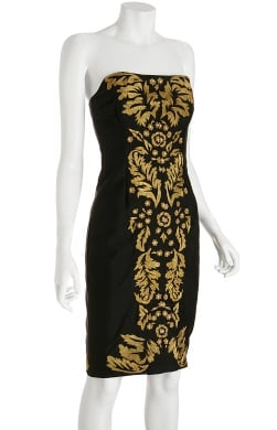 Tracy Reese Shantung Embroidered Strapless Dress: Love It or Hate It?