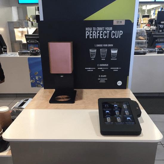 McDonald's Tests Coffee Kiosks