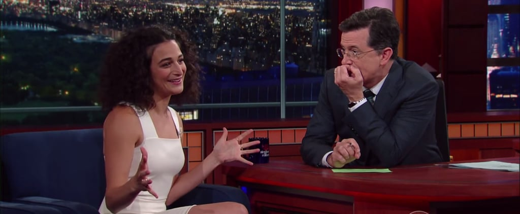 Jenny Slate's Hilarious Appearance on Colbert Makes It So Obvious Why Chris Evans Fell For Her
