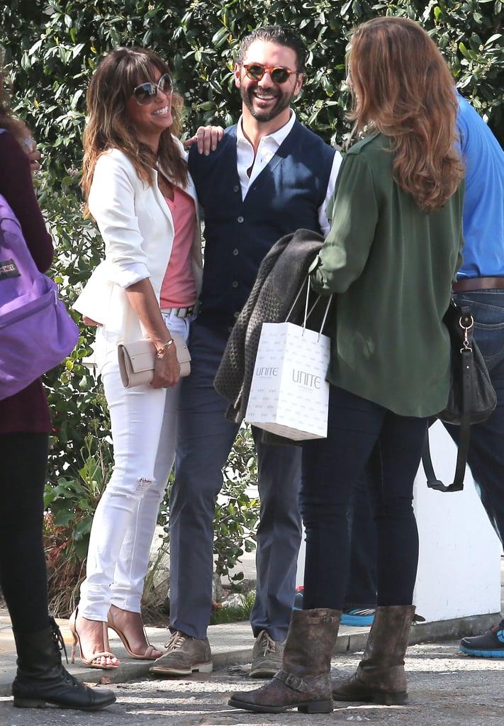 Eva Longoria Packs on the Weekend PDA