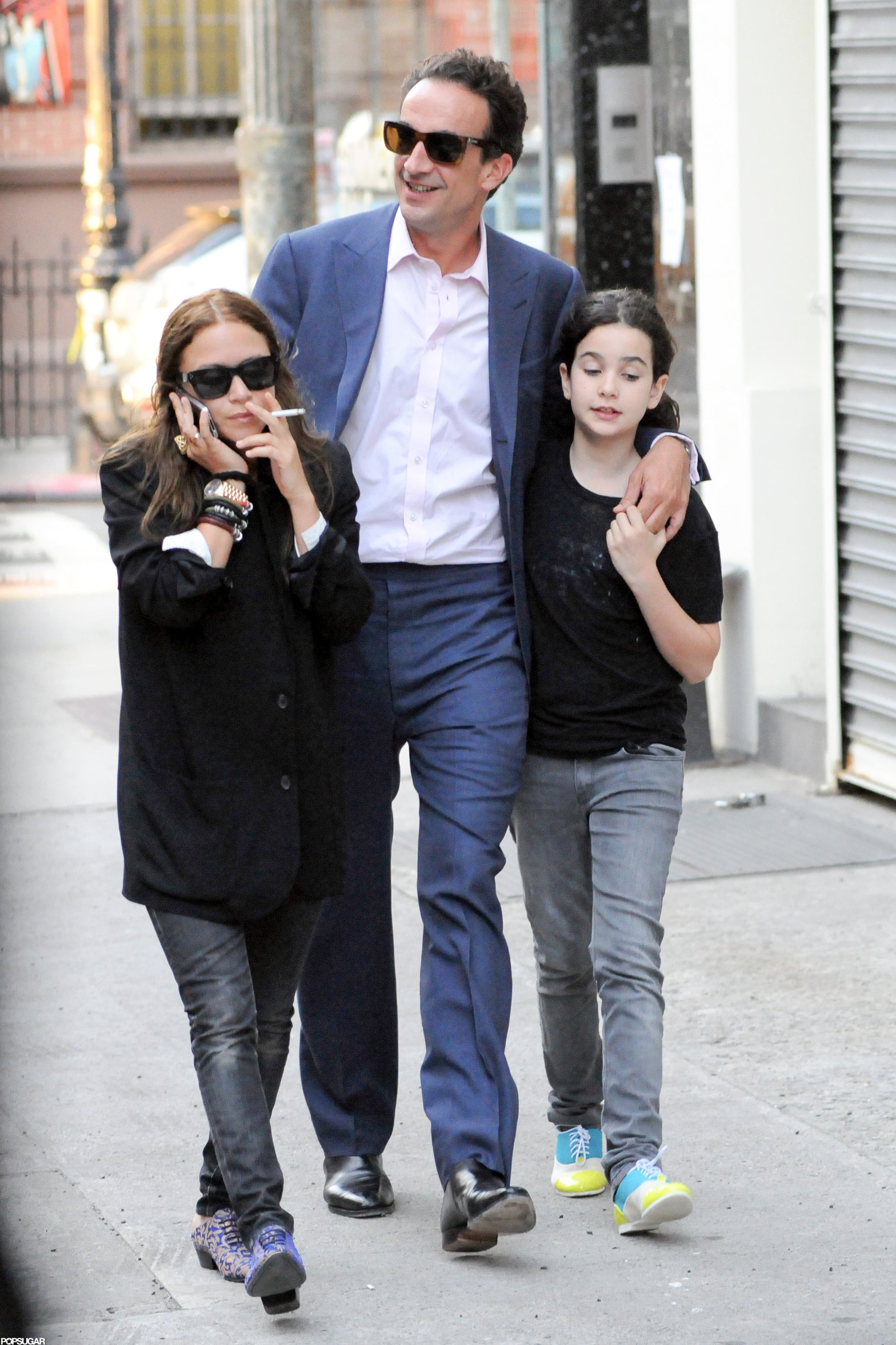 marykate olsen hung out with boyfriend olivier sarkozy
