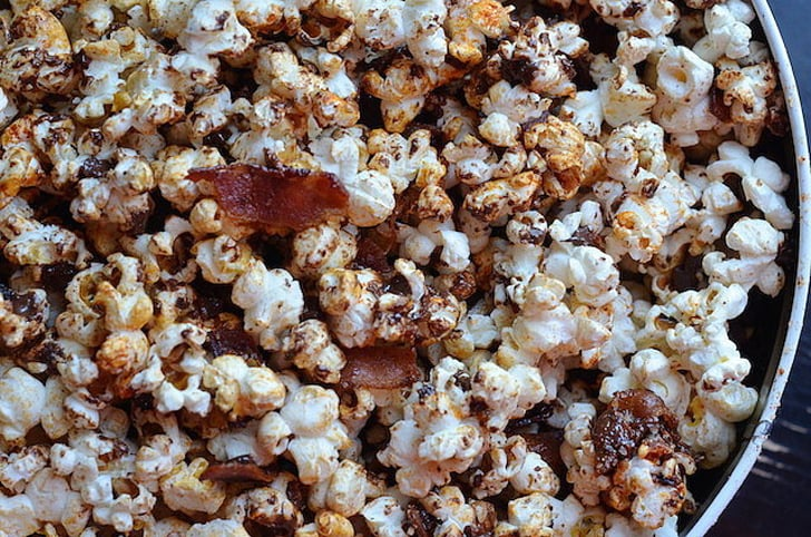 Popcorn With Bacon and Chocolate