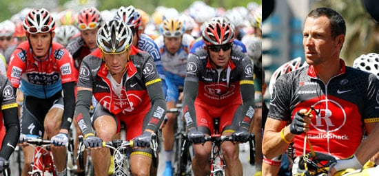 Lance Armstrong Crashes in Stage 5 of Tour of California