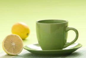 The Benefits of Green Tea and Lemon Juice