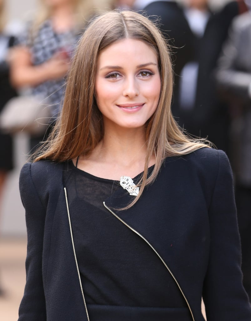 Olivia Palermo at Burberry Prorsum Spring 2014.