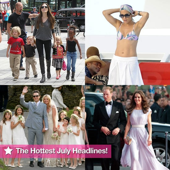 The Royals Take America, Jennifer and Marc Split, and Victoria and Kate Welcome New Babies: The Hottest July Headlines!