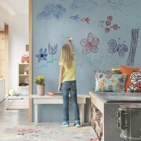 Whiteboard Paint For Kids' Rooms