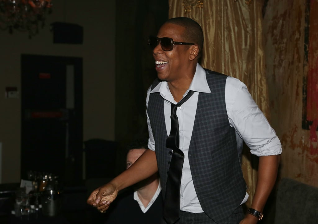 Jay-Z smiled through the 2013 Super Bowl weekend and even hosted a party at The Republic in New Orleans Saturday night.
