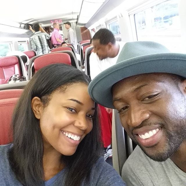 In July 2015, the pair visited Beijing as part of Dwyane's China Tour.