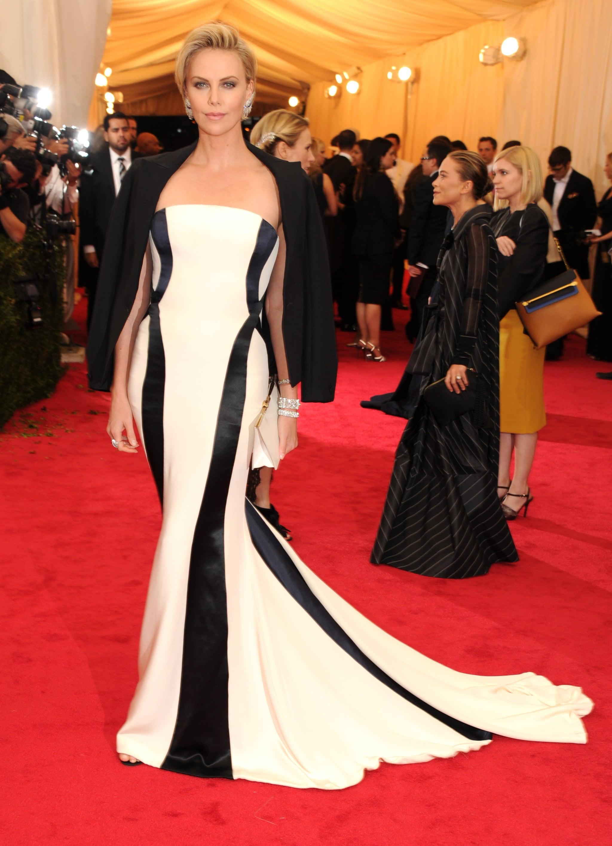 Charlize Theron Brings Sean Penn to the Met Gala