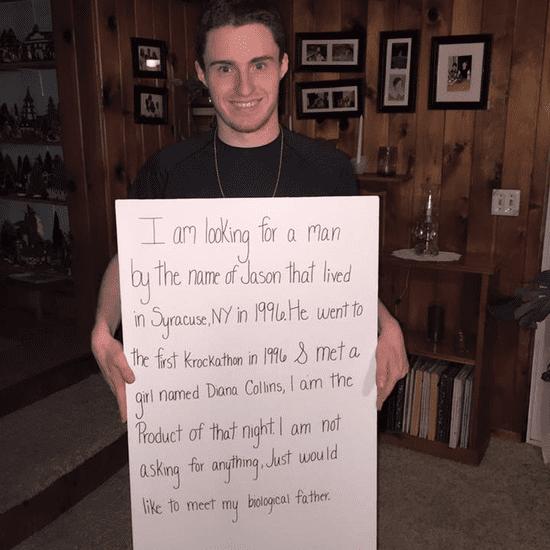 Man on Facebook Seeks Biological Dad