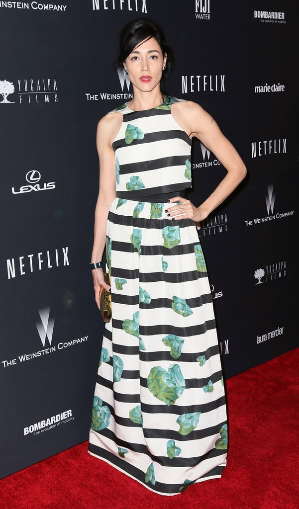 Sandrine Holt at the Netflix Golden Globes Afterparty