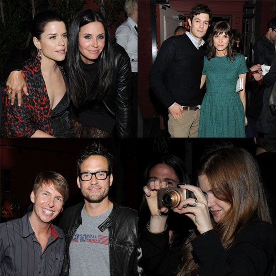 Courteney Cox at Scream 4 Afterparty With Josh Hopkins
