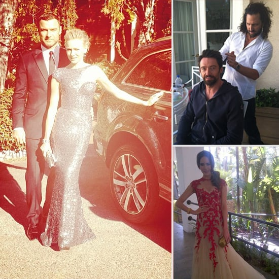 First Look At The 2013 Oscars Celebrities Via Social Media