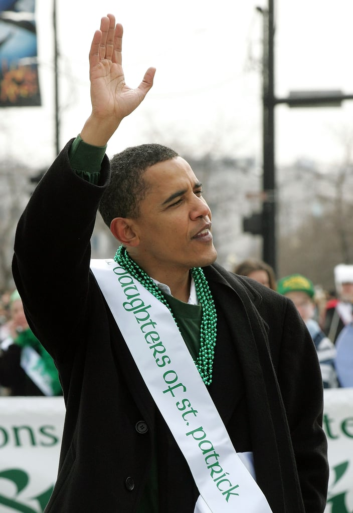 Once, then-Senator Barack Obama made an appearance.