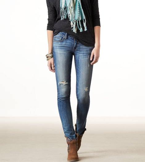 We love that a great jean doesn't have to cost a fortune, like this perfectly broken-in pair ($30, originally $50) from American Eagle.