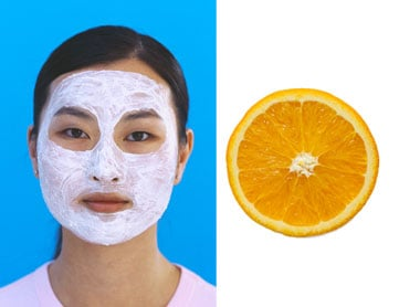 DIY Spa Treatment: Exfoliating Orange Yogurt Mask