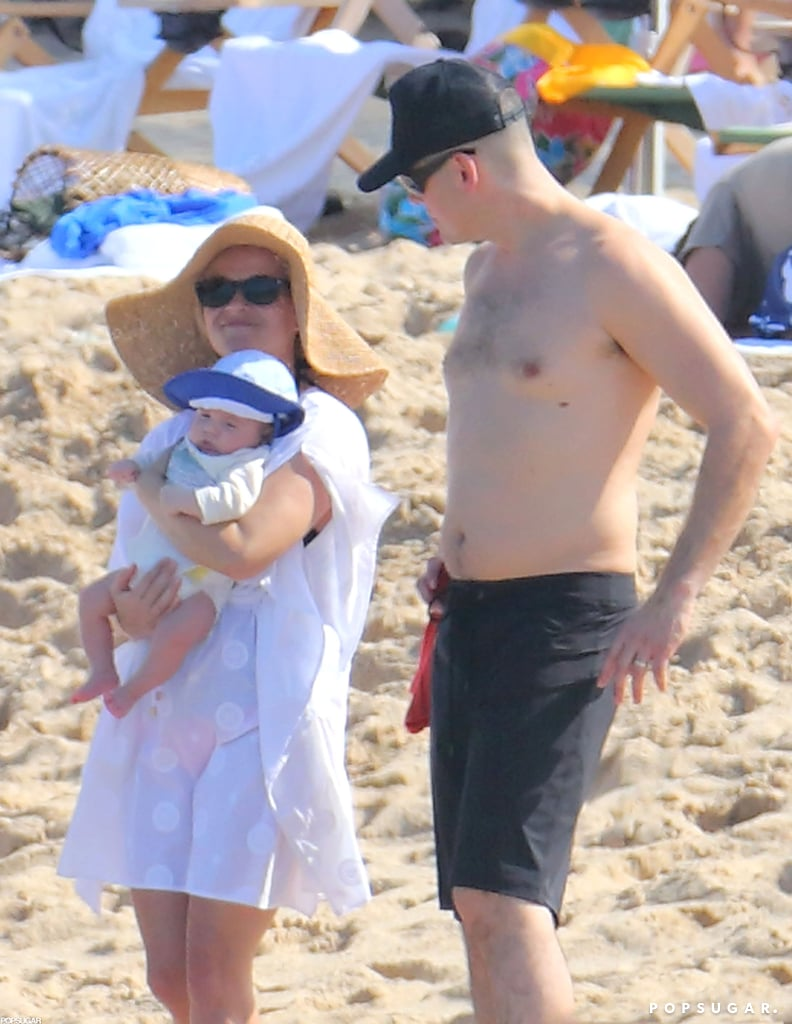 Jim Toth went shirtless on the beach with Reese Witherspoon and Tennessee.