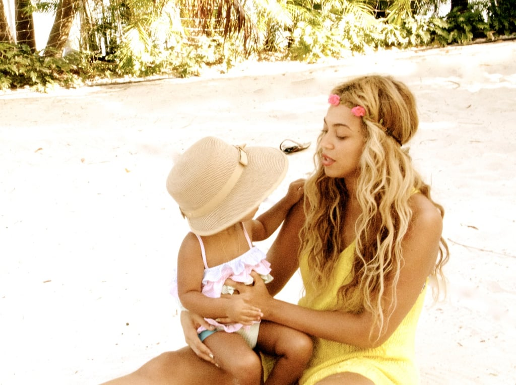 So here's to you, Beyoncé and Blue — an amazing mother-daughter duo!