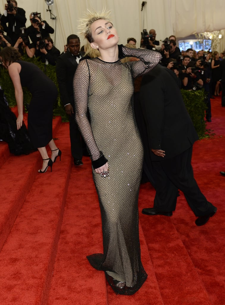 Miley Cyrus at the Met Gala 2013.