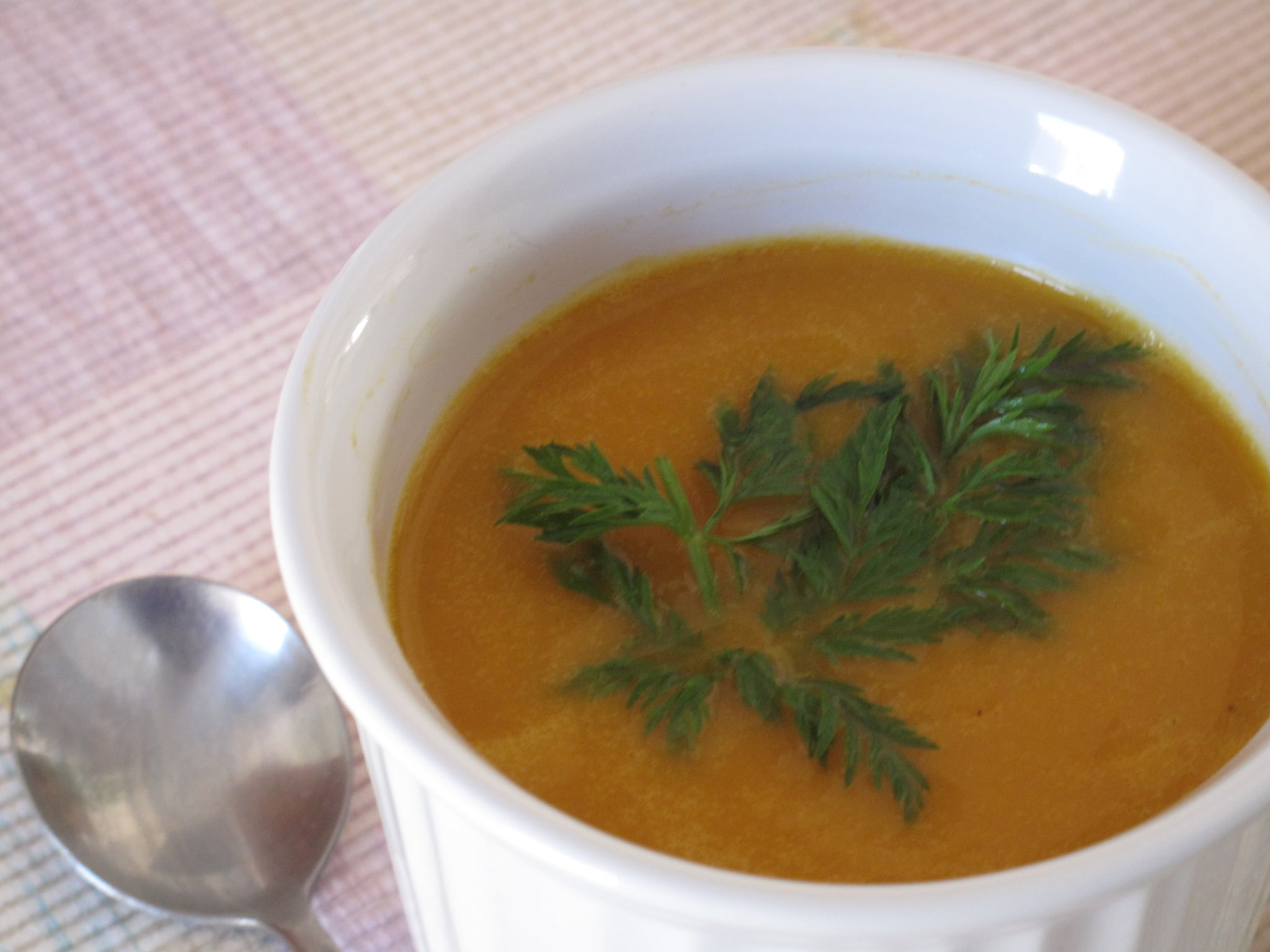 Curried Carrot Bisque