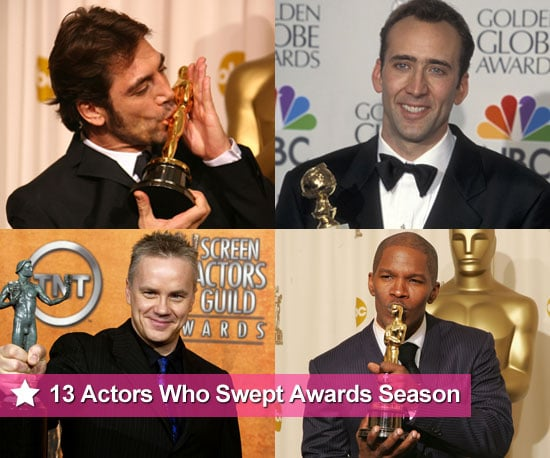 Actors Who Swept Award Season and Won Golden Globe, SAG Award, Oscars