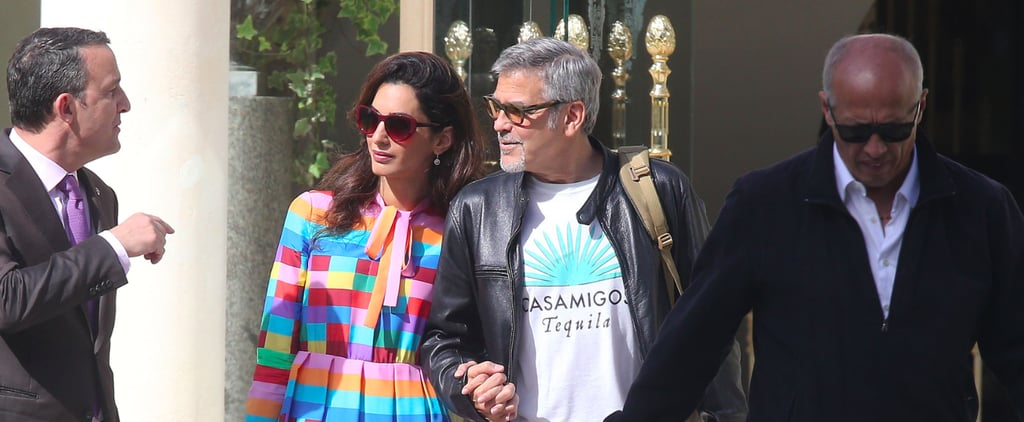 Amal Clooney Has the Secret to Pulling Off a Colorful Look — and It's Not What You Think