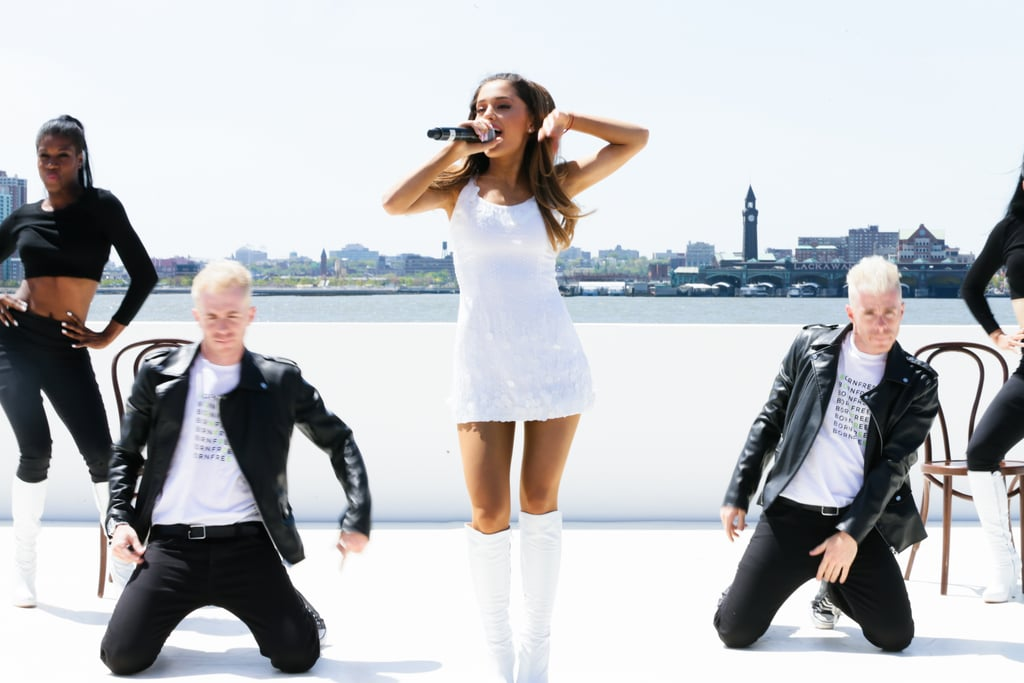 Ariana Grande performed.