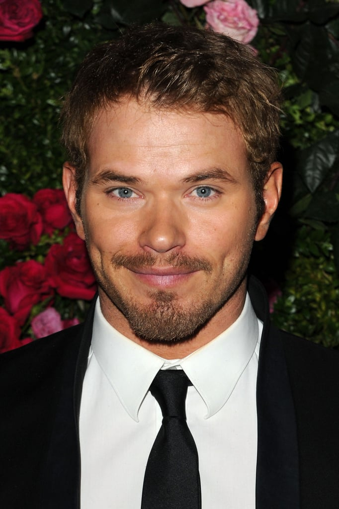 Kellan Lutz smiled at the Chanel dinner party at the 2012 Tribeca Film Festival.