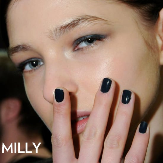 Milly Fall 2012 Beauty Look: Hair, Makeup, Nails