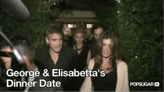 Video of George Clooney and Elisabetta Canalis Out to Dinner in LA 2010-09-03 09:48:59