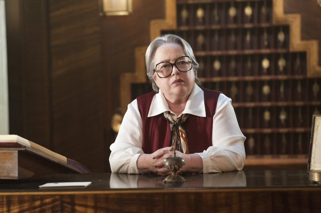 Bates as Iris in Hotel