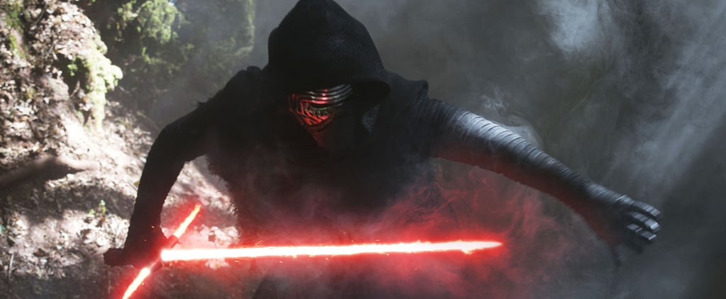 Kylo Ren Watching the Rogue One Trailer Is What Star Wars Dreams Are Made Of