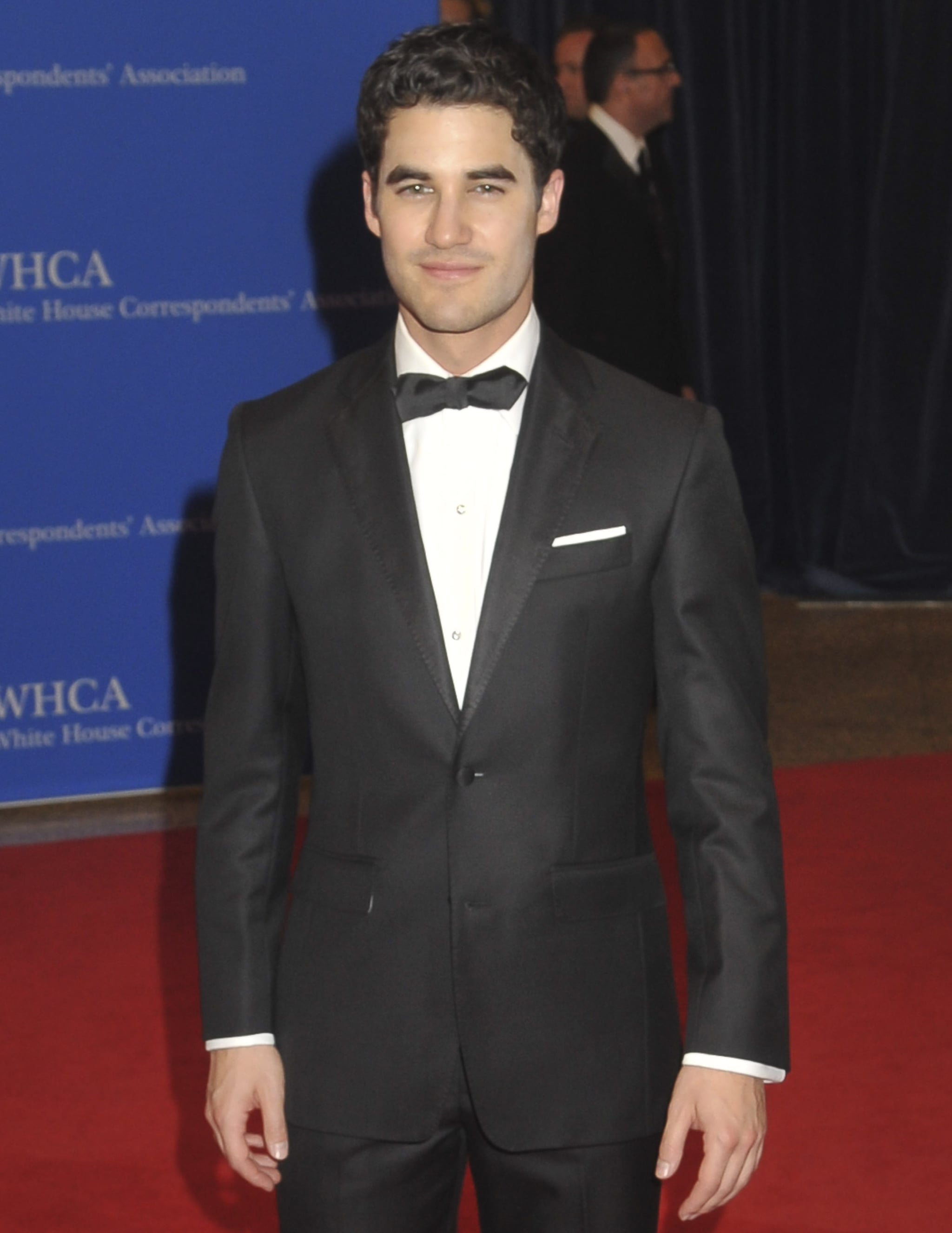 Darren Criss donned a bow tie.